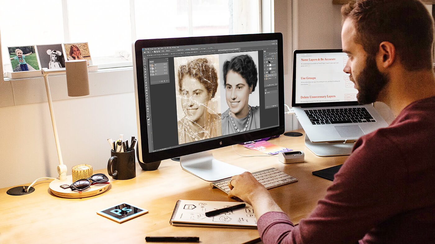 HOW TO RETOUCH A PHOTO IN PHOTOSHOP.EDITED