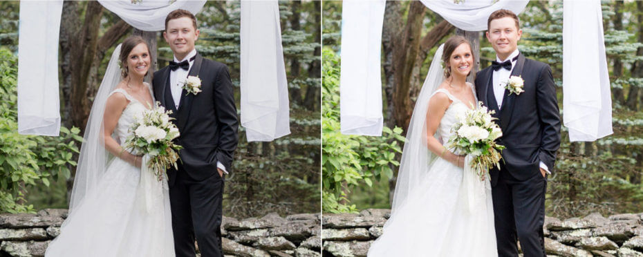 Wedding images - Photo Color Correction Services