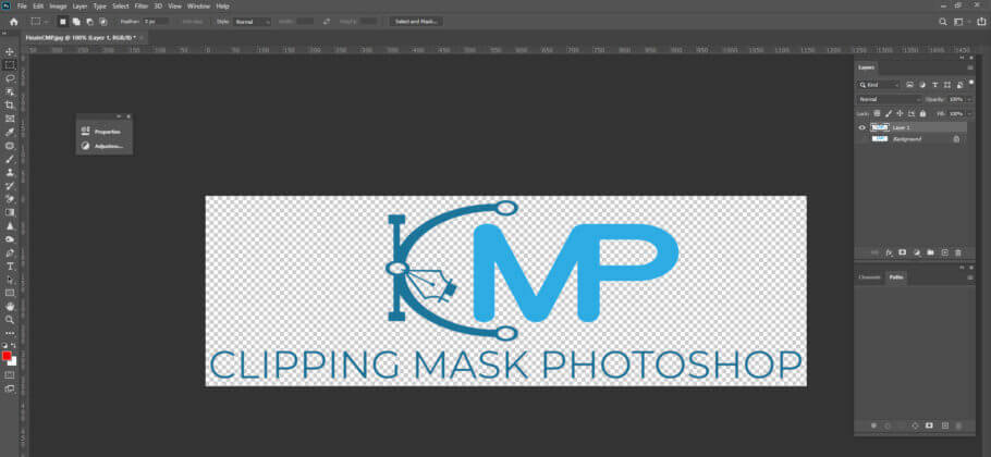 Save your image as a PNG file - How to Make a Transparent Background in Photoshop