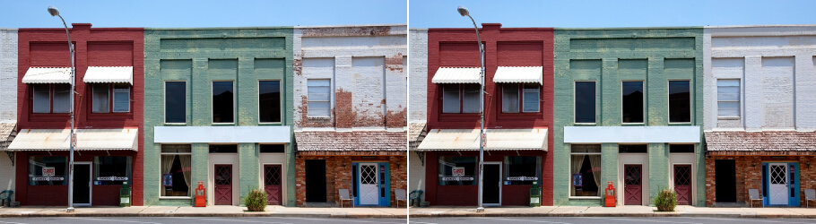 Scratches-retouching - Real Estate Photo Editing