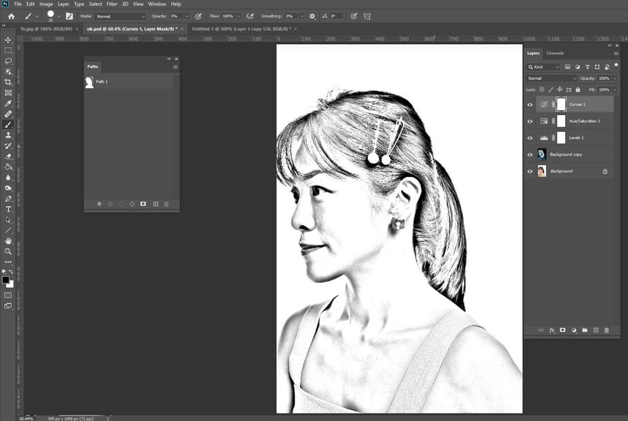 Add Pencil Shading to your image