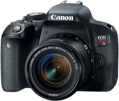 Canon EOS REBEL T7i (Best cameras for Product Photography)