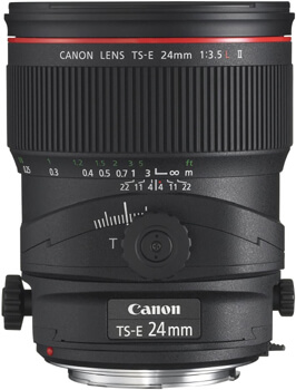 Canon TS-E 24mm II Tilt-Shift Lens - Best Lens for Real Estate Photography